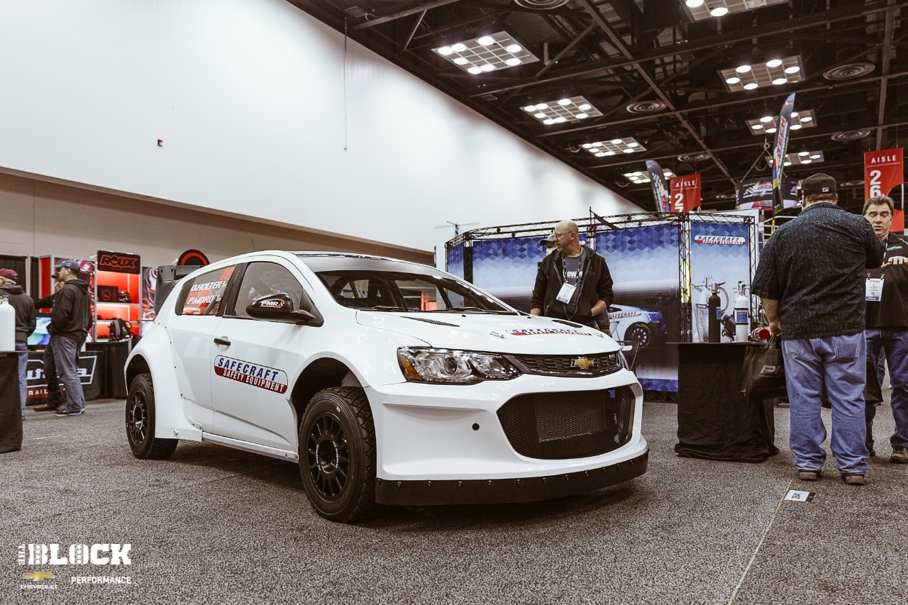 Chevy Sonic Custom >> Ls3 Powered Chevy Sonic Rs Is Built To Rally