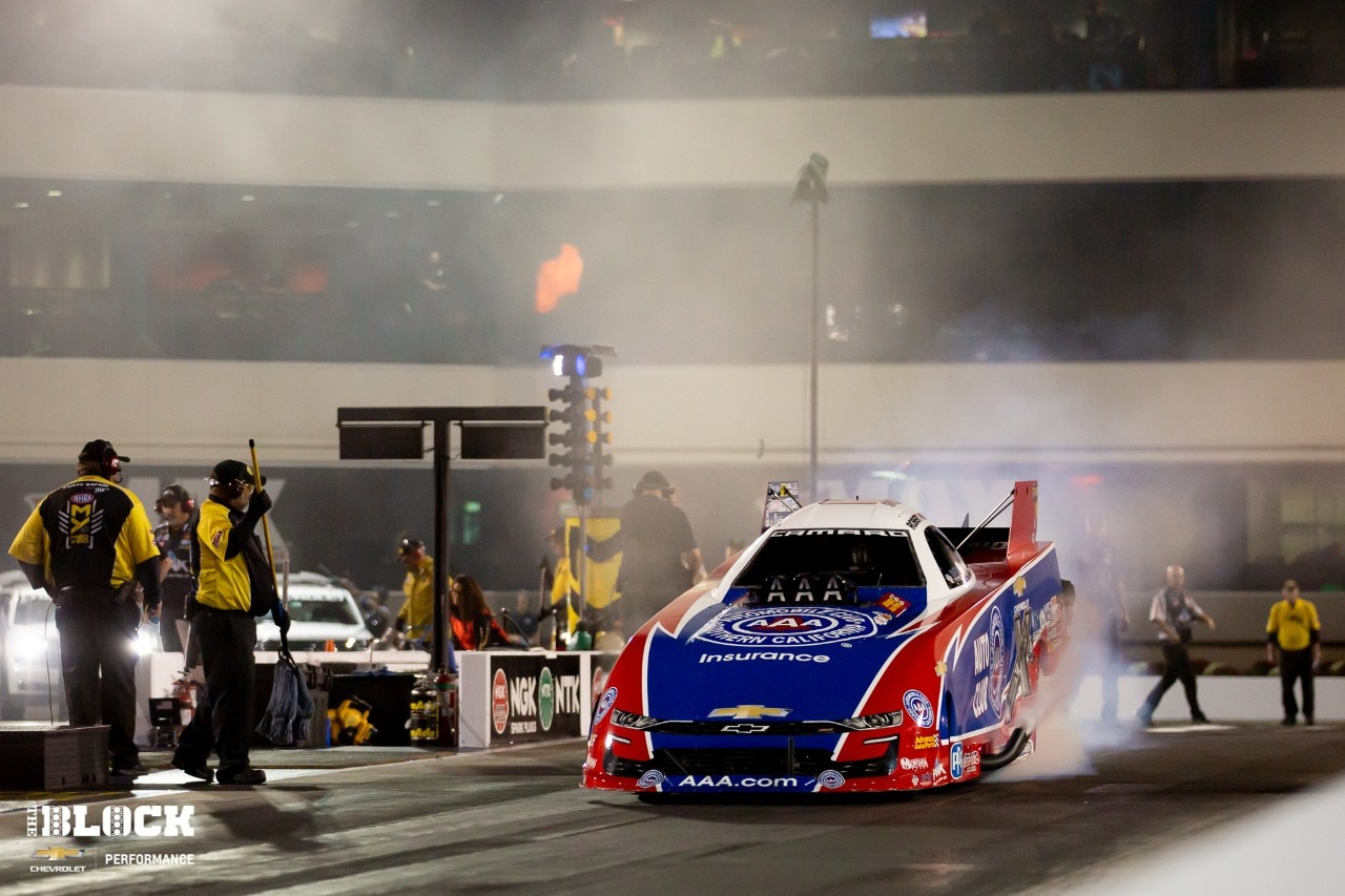Nitro Business: Funny Car Driver Robert Hight is also