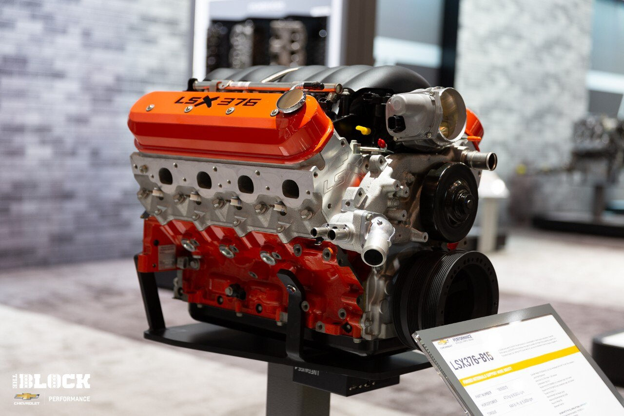 Visit the Chevrolet Performance Booth at the SEMA Show