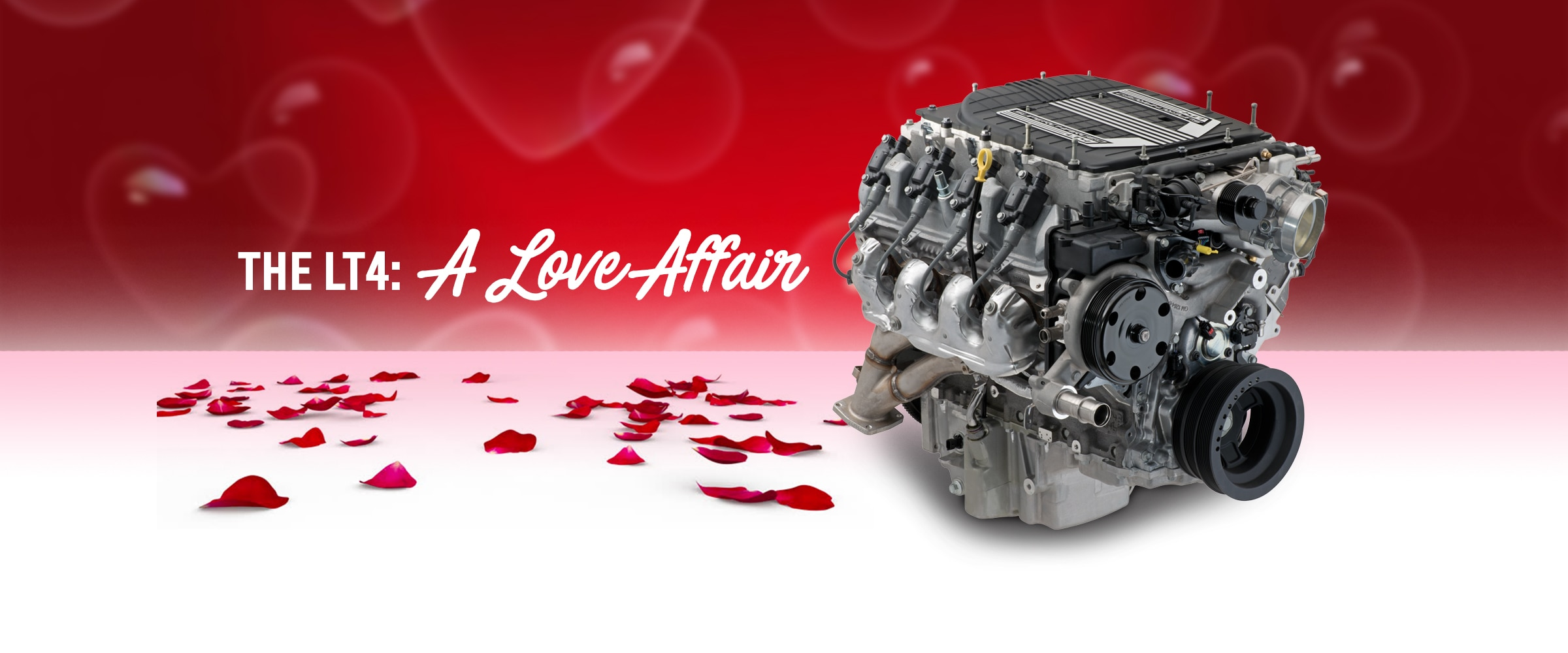 Parts, Engines, Chevy, Chevrolet, Chevrolet Performance, Crate Engines, LT4, LT4 Crate Engine, Camaro, Camaro ZL1, Valentine's Day, Corvette, Corvette Z06