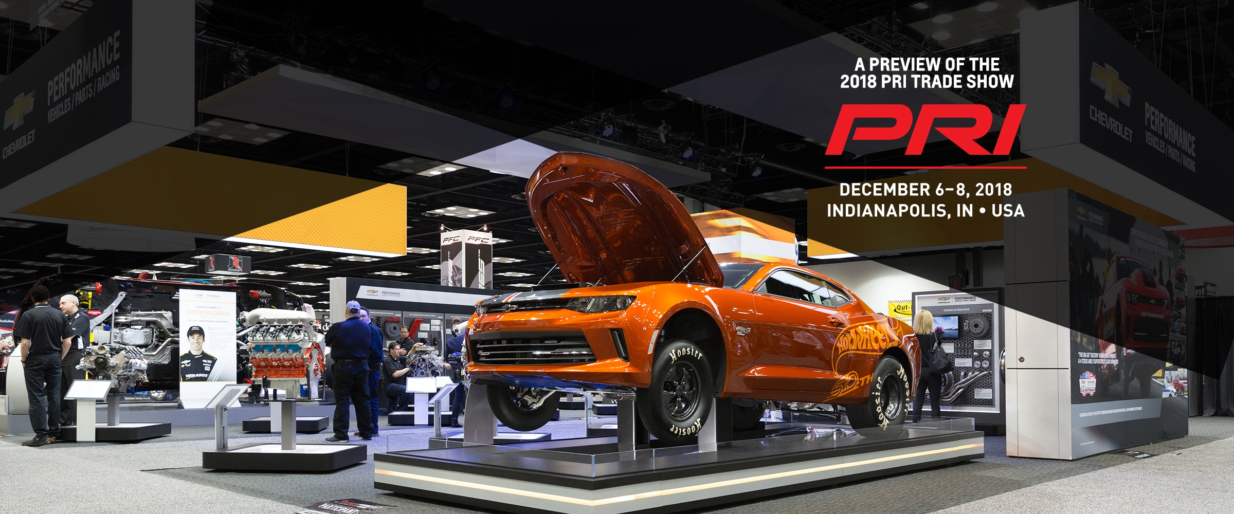 Parts, News, Events, Chevrolet Performance, Chevy, Chevrolet, Performance Racing Industry, PRI, PRI Trade Show, Indianapolis, Indiana Convention Center, Racing, Motorsports