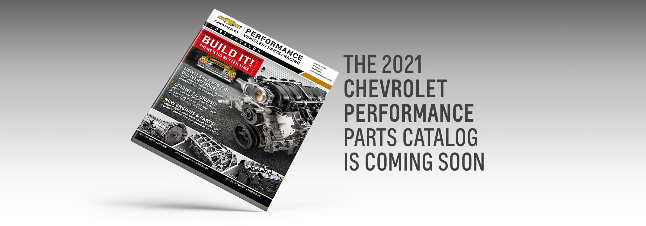 The 2021 Chevrolet Performance Parts Catalog Is Here