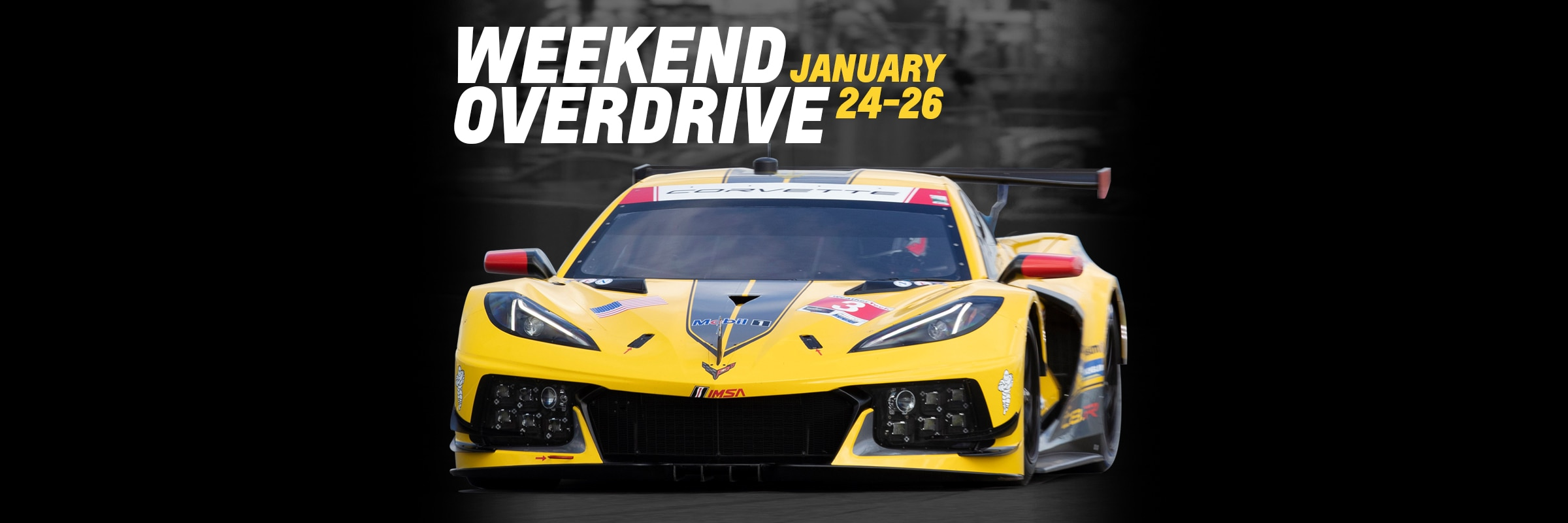 Racing, Motorsports, Chevy, Chevrolet, Chevrolet Performance, Schedule, Events, TV, Team Chevy, IMSA, IMSA WeatherTech SportsCar Championship, Rolex 24, Rolex 24 at Daytona, Daytona International Speedway