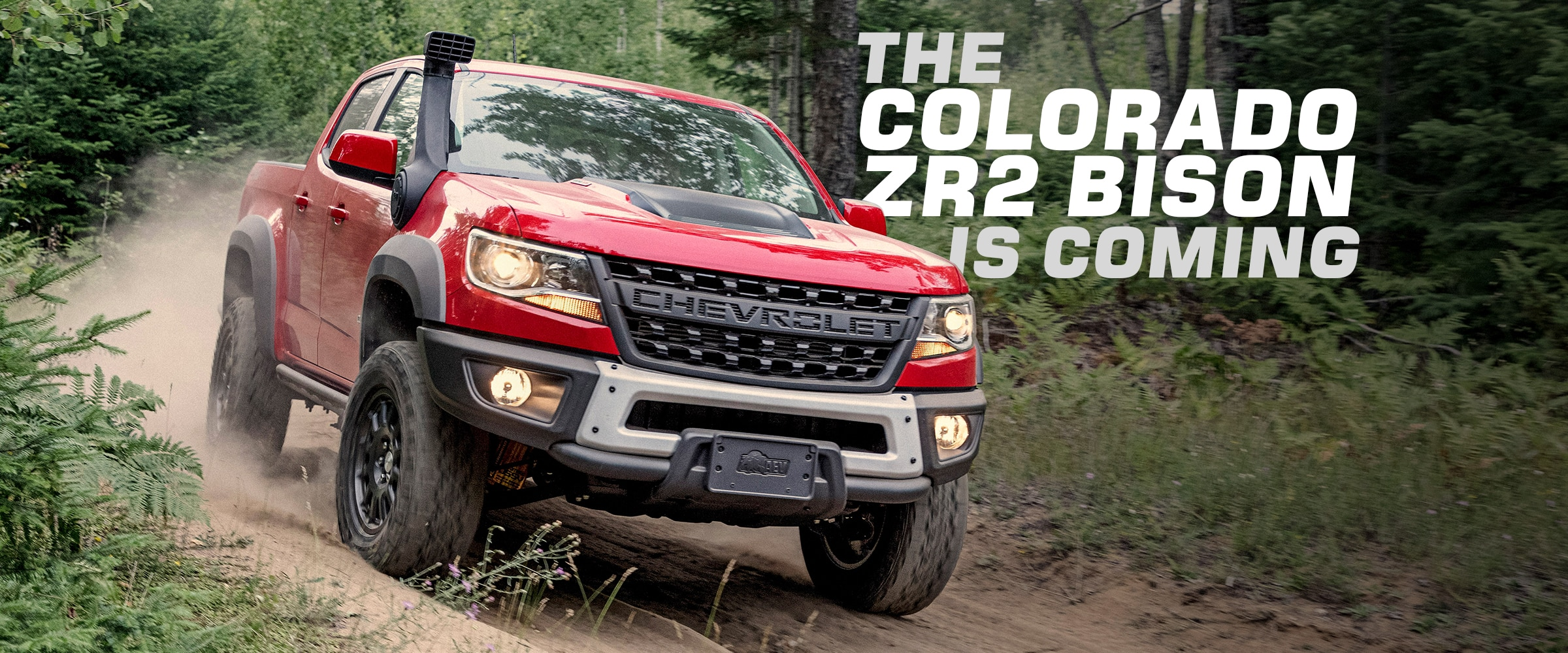 Vehicles, News, Chevrolet Performance, Trucks, Chevy Trucks, Chevrolet Colorado, Chevy Colorado, ZR2, ZR2 Bison, Colorado ZR2 Bison, Chevy Colorado ZR2 Bison, Chevrolet Colorado ZR2 Bison