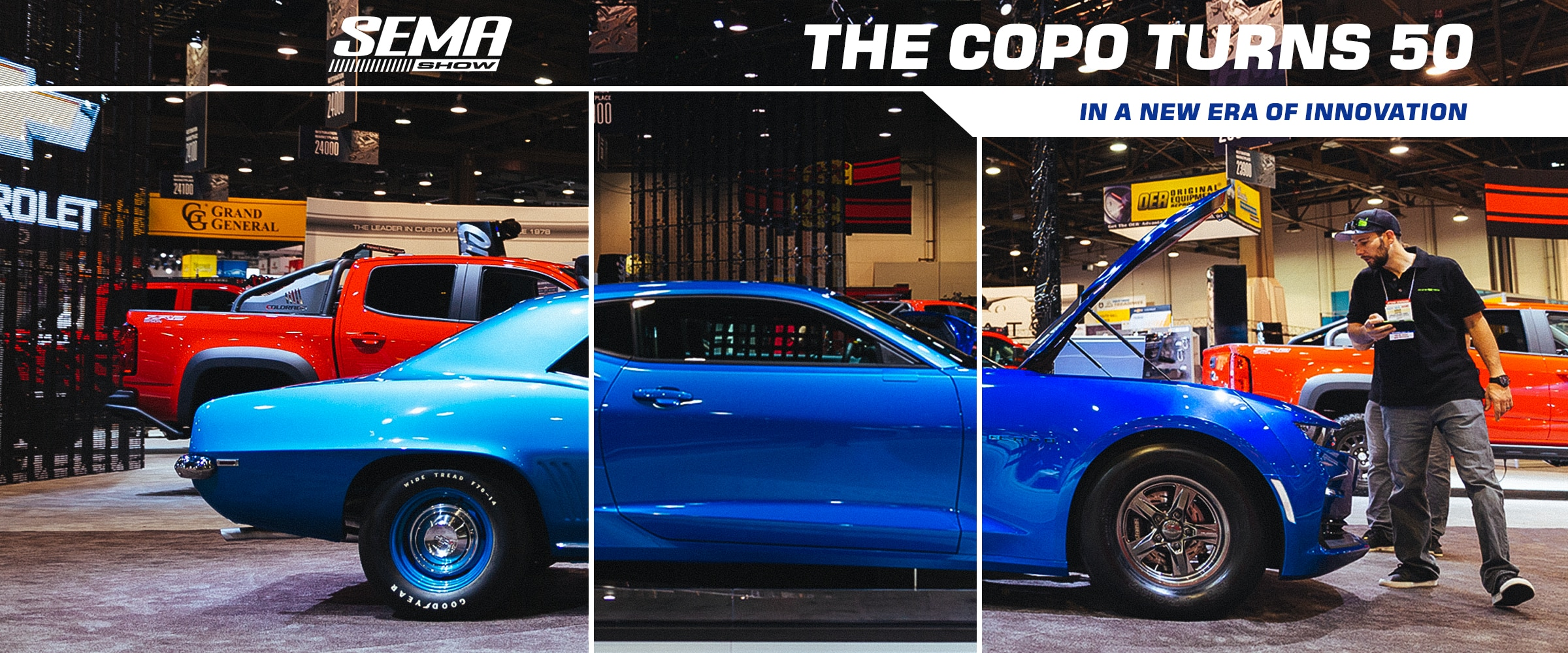 Vehicles, Parts, News, Events, Chevrolet Performance, Chevy, Chevrolet, Engines, Crate Engines, COPO, COPO Camaro, 427 N/A Anniversary COPO Crate Engine, 427, Naturally Aspirated, E-COPO, 2019 COPO