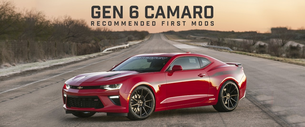 Gen 6 Camaro Recommended First Mods