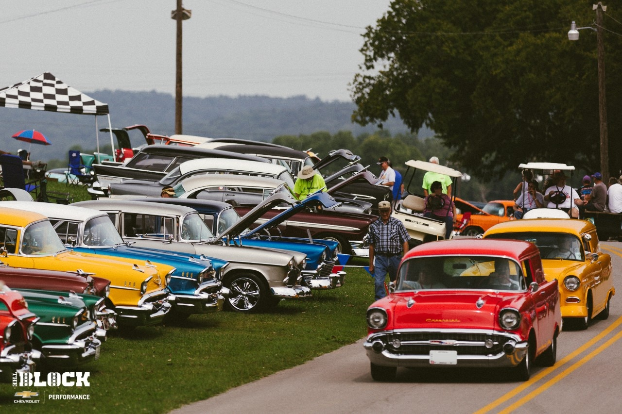 Vehicles, Events, Chevy, Chevrolet, Chevrolet Performance, Shows, Car Shows, Tri-Five Chevy, Tri-Five Nationals, Bowling Green, Kentucky, Beech Bend, Beech Bend Raceway Park