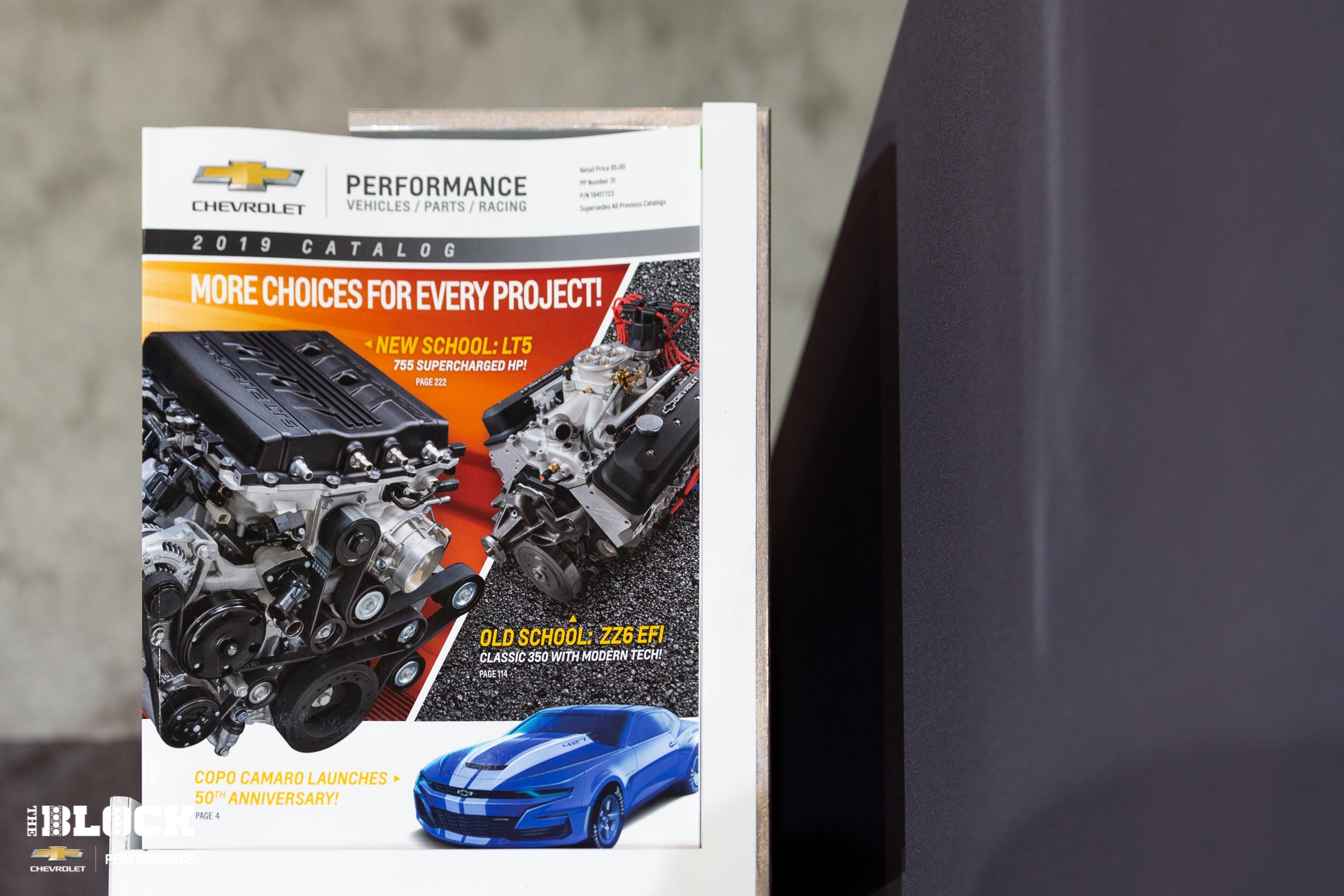 2019 Chevrolet Performance Catalog Revealed