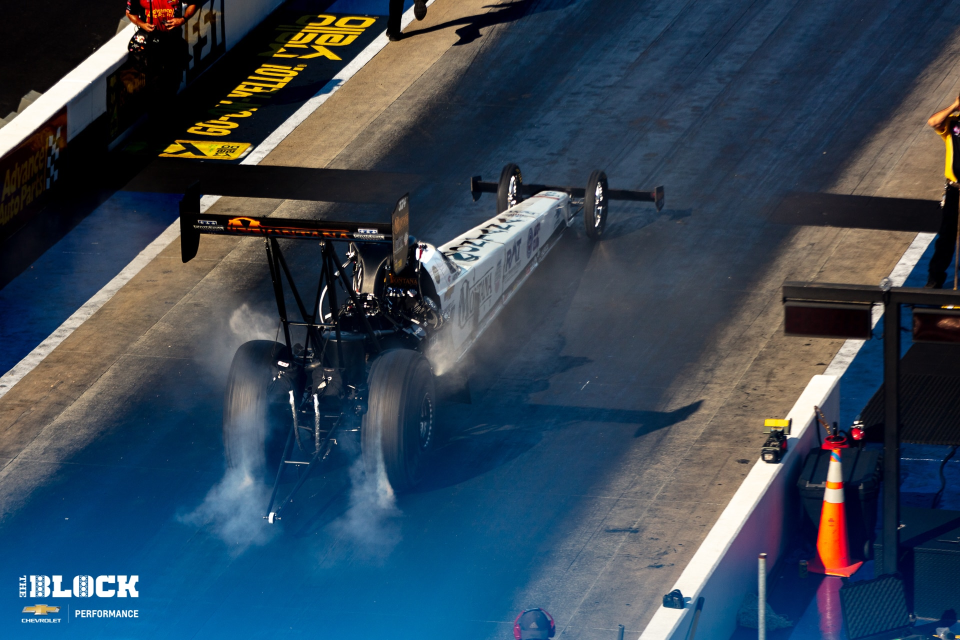 The Father The Son and The Snake: Top Fuel Rookie Austin