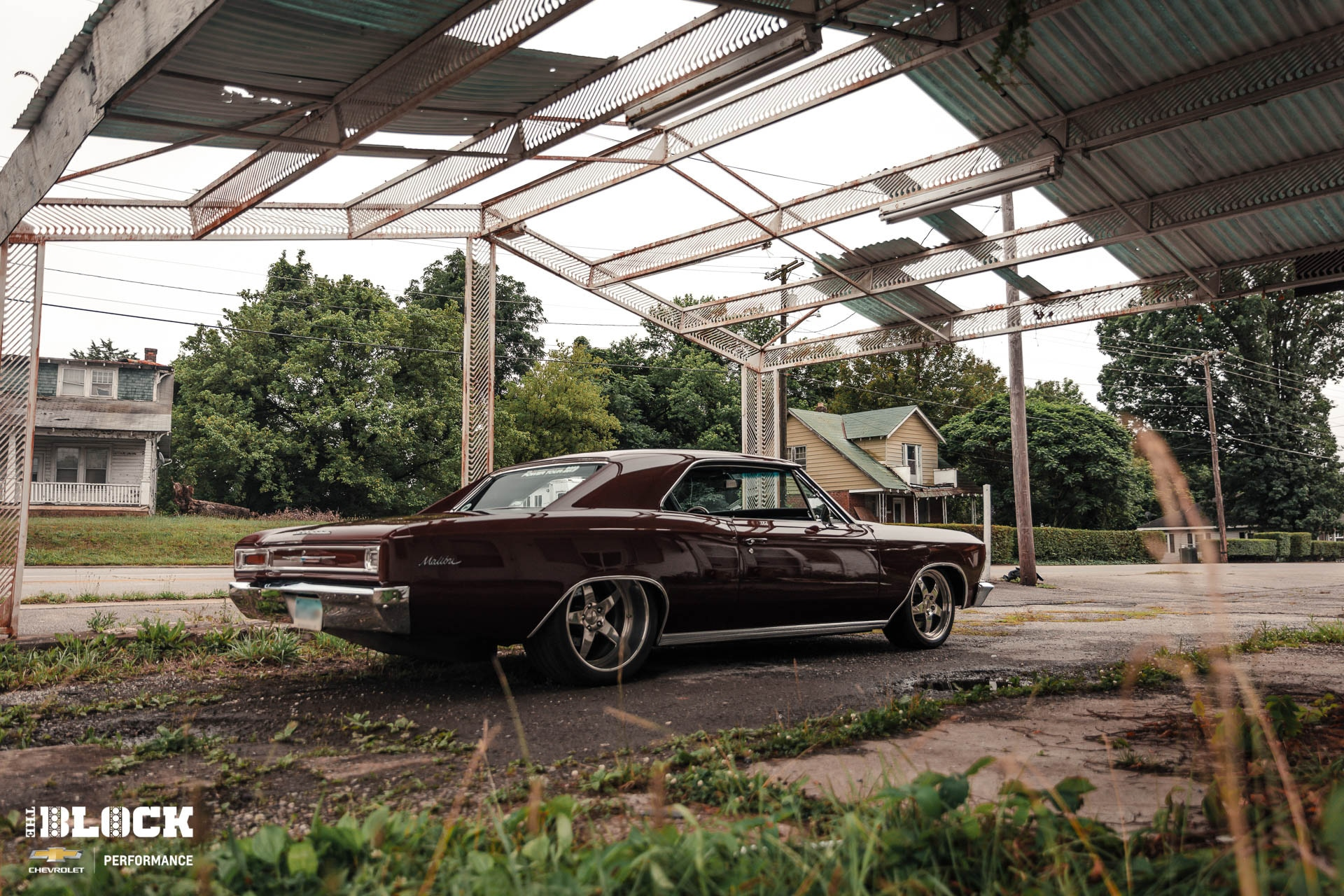 Going Big: A 572 is Under the Hood of this 1966 Malibu