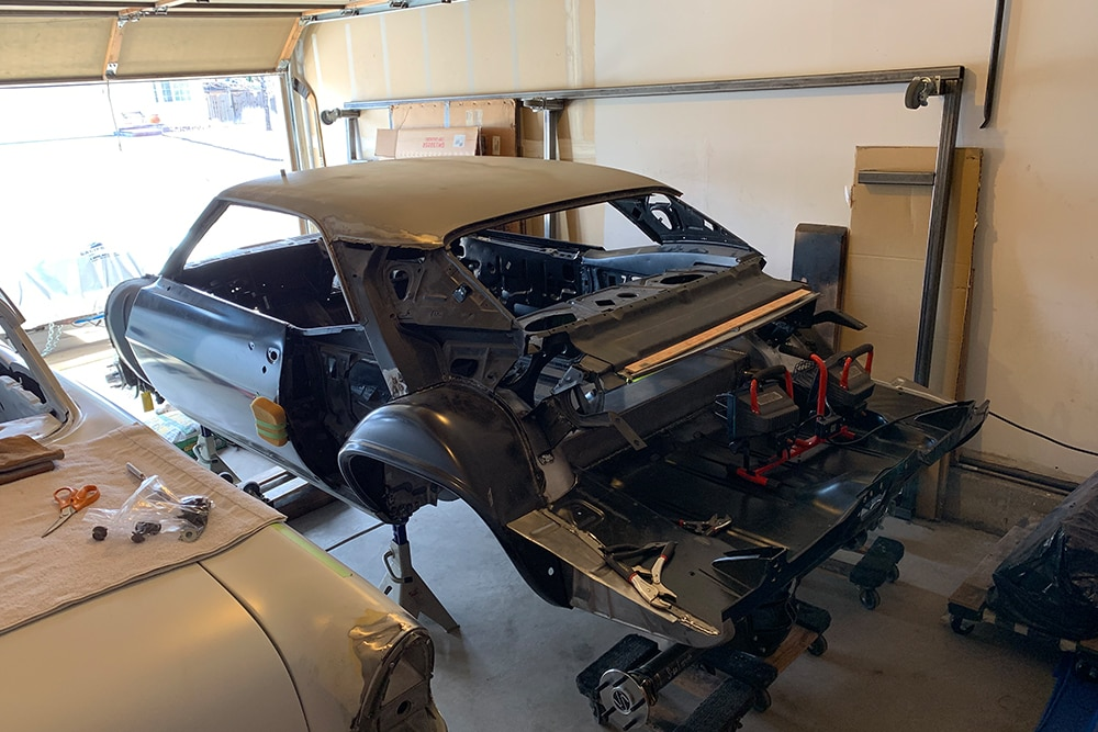 Project LT5: Ed Valenciano is Making the Swap in a 1969 Camaro